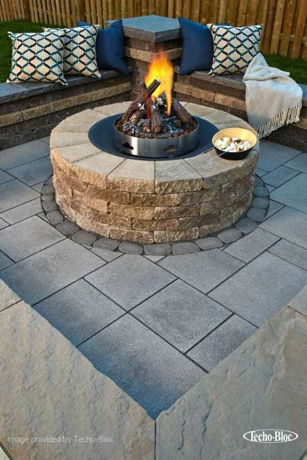 outdoor backyard fire pit Lebanon County, PA