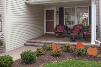 natural stone walkway and steps in Lancaster, PA