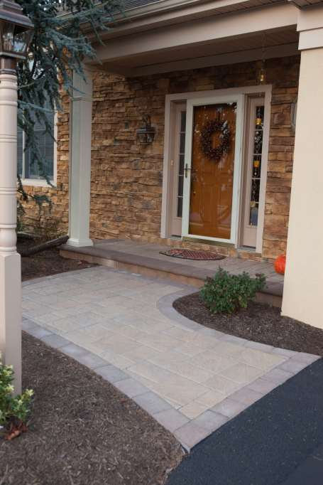 natural stone walkway in Ephrata PA