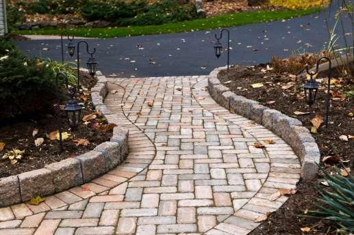 brick pathway in Lebanon, PA