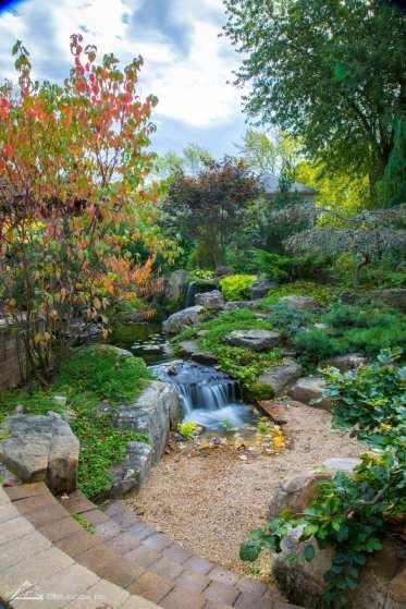 backyard waterfall example