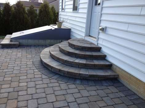 natural stone stairs and walkway in Lebanon County, PA