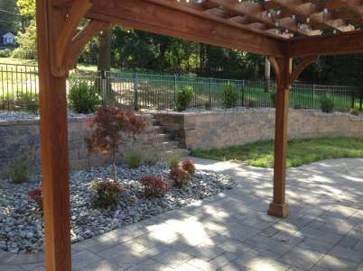 custom wood pergolas in lebanon pa