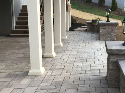 pervious walkway and patio in Lancaster, PA
