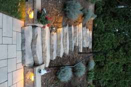 natural stone stairway in Lebanon County, PA