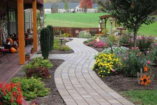 stone walkway in Lebanon County, PA