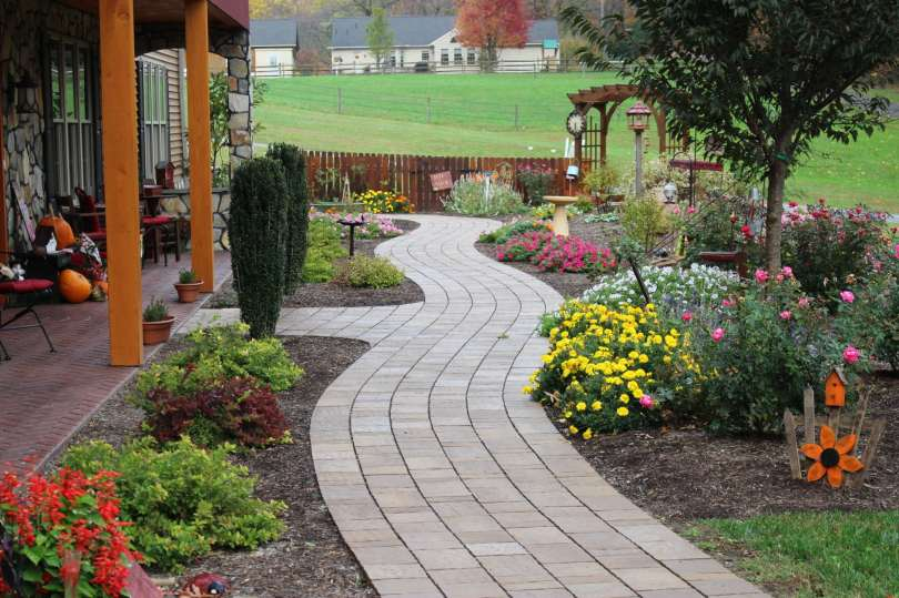 stone walkway in Lebanon County, PA
