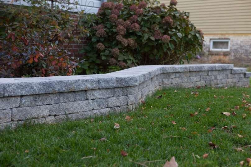 stone block wall in Lebanon County, PA