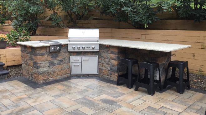 outdoor kitchen in lancaster pa