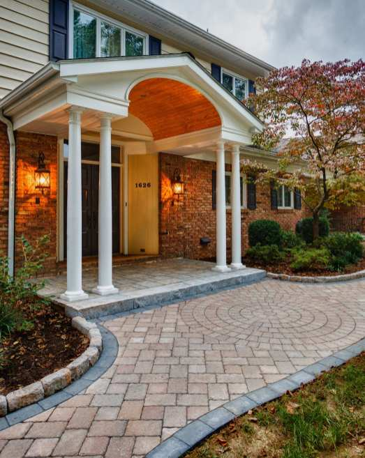 stone entryway in lancaster pa