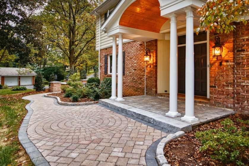 stone walkway patterns in Lebanon County, PA