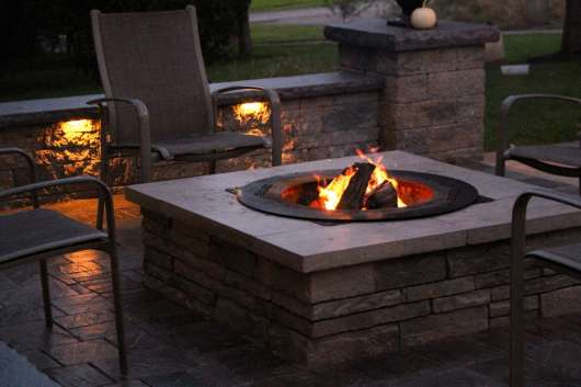 Fire Features & Fireplaces