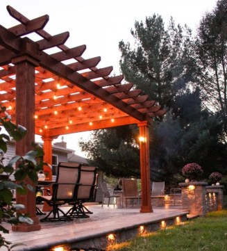 pergola outdoor living structure built in lancaster pa
