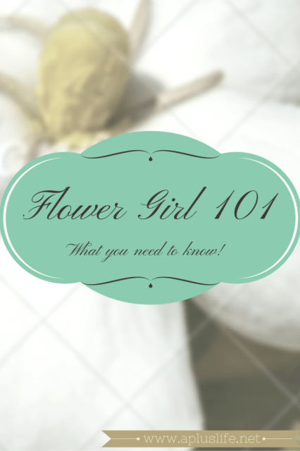 tips and tricks for being a flower girl