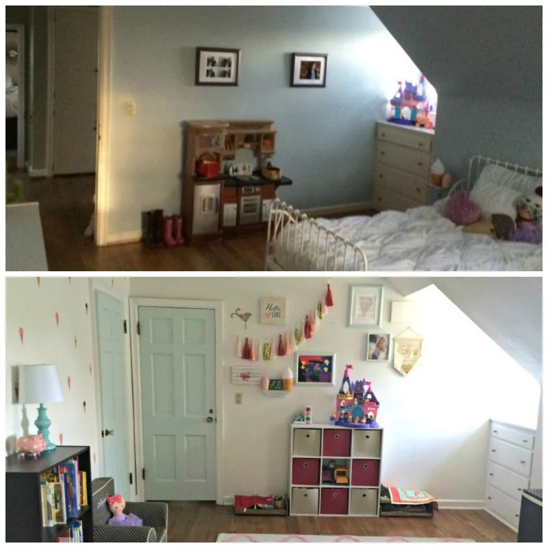 Abigail Bedroom Before And After