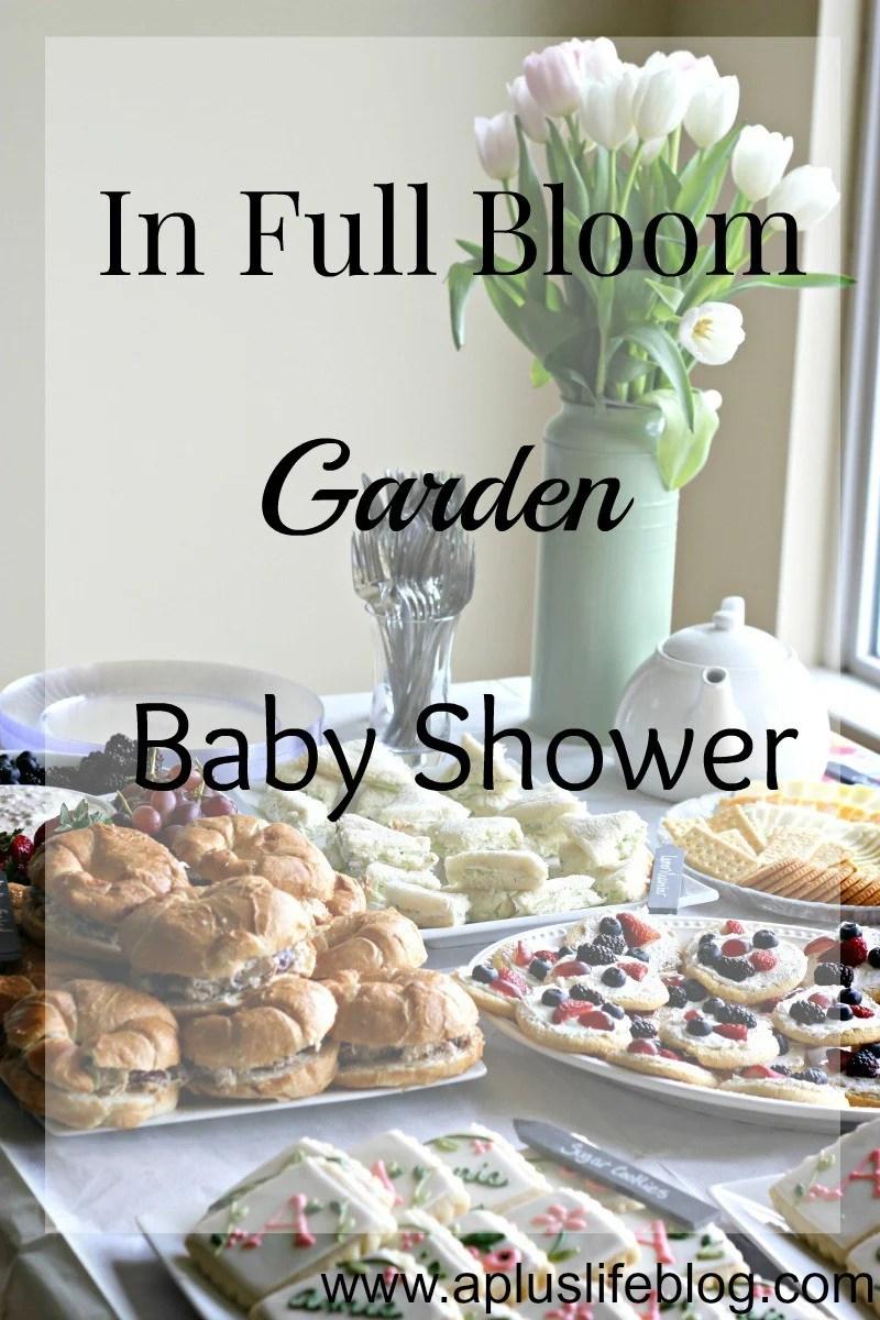 Garden Baby Shower Theme #babyshower #gardenbabyshower #babyshowertheme #babyshowerideas