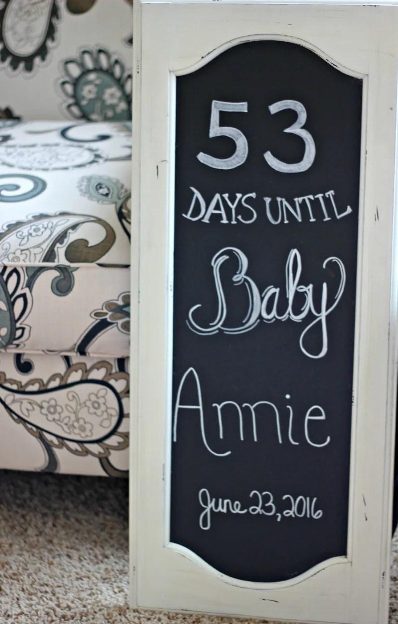 Baby Shower Chalkboard #babyshowerdecorations #babyshowerdecor #babyshowerideas