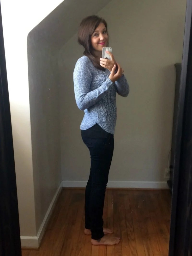 Stitch Fix Cable Front Pullover