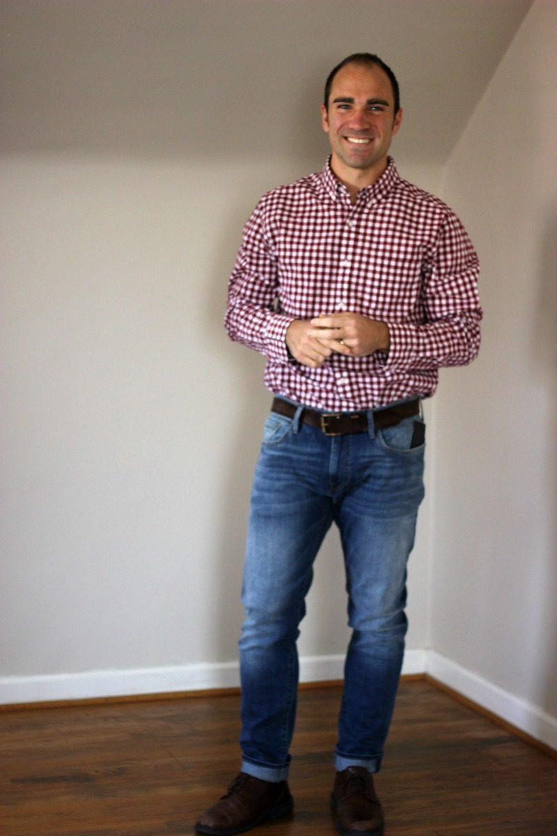 Stitch Fix For Men Hawker Rye Essential Wash Long Sleeve Shirt