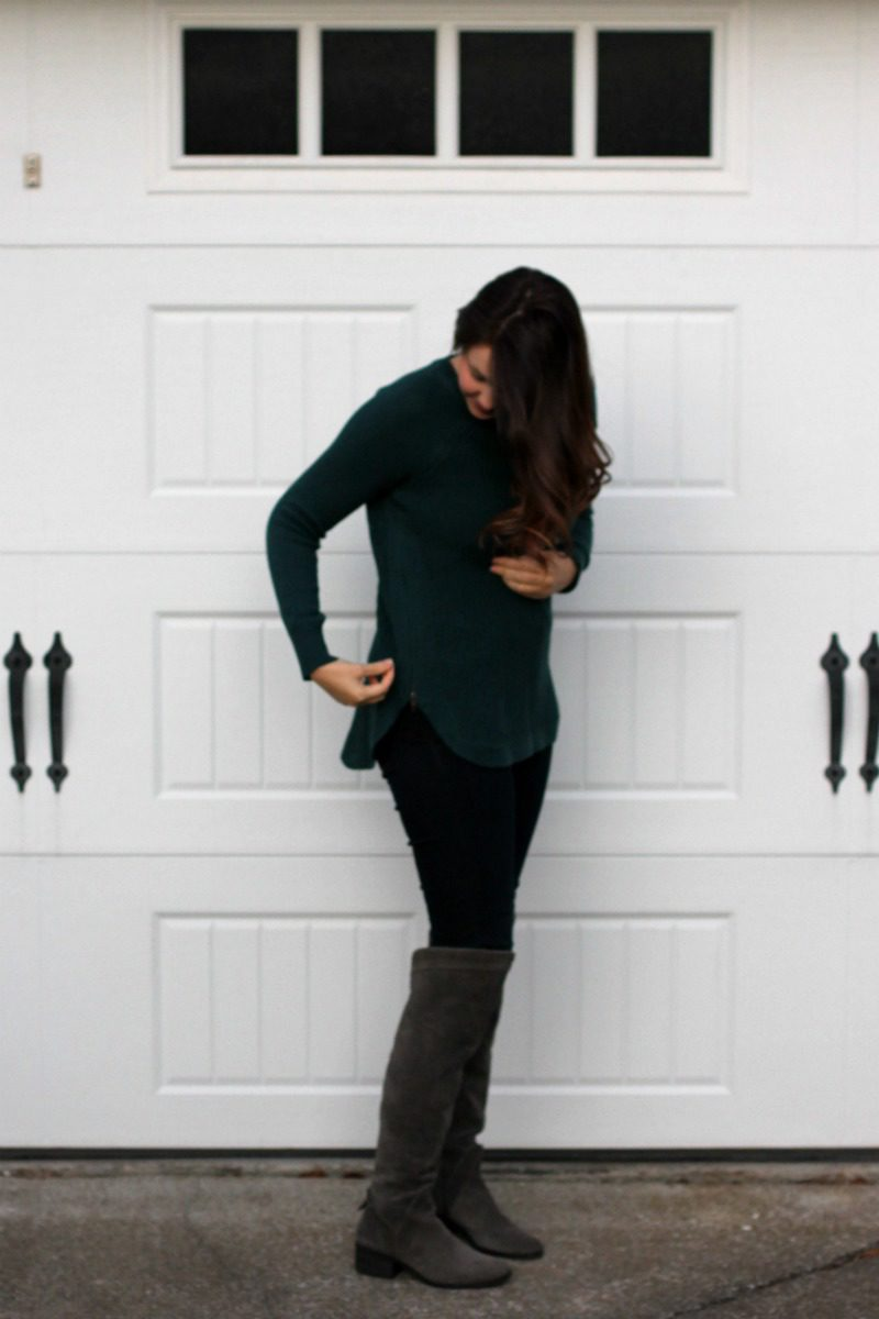 Stitch Fix Reveal, Stitch Fix, Stitch Fix Sweater, RD Style Sweater, Zipper Sweater, #stitchfix #stitchfixsweater