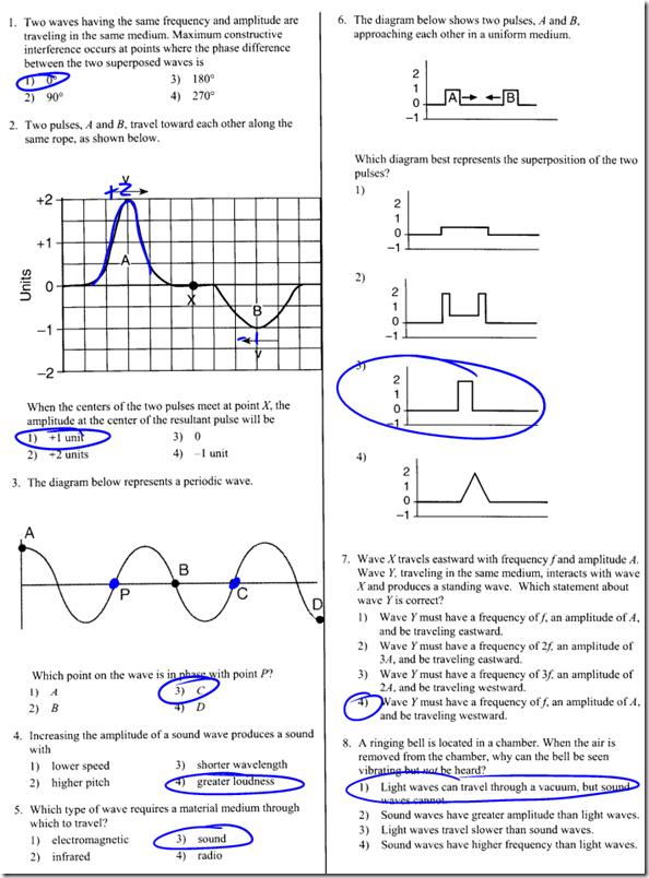 Wave Interference Worksheet. Worksheets. Ratchasima