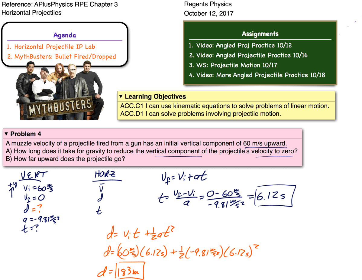 Projectile Motion Archives