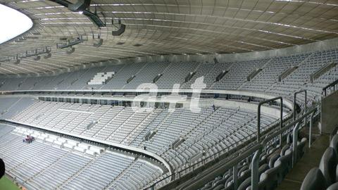 at  Herzog  de Meuron Allianz Arena Munich