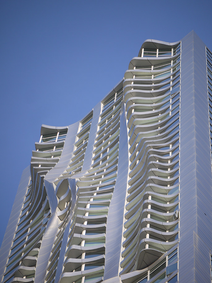 at  Gehry Beekman Tower New York 2010