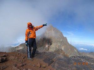 Batian Mount Kenya
