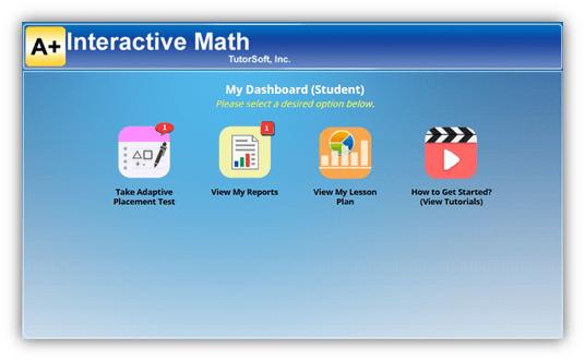 Adaptive Math Placement Test