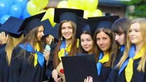 Ukraynada Eğitim Üniversite Öğrencileri