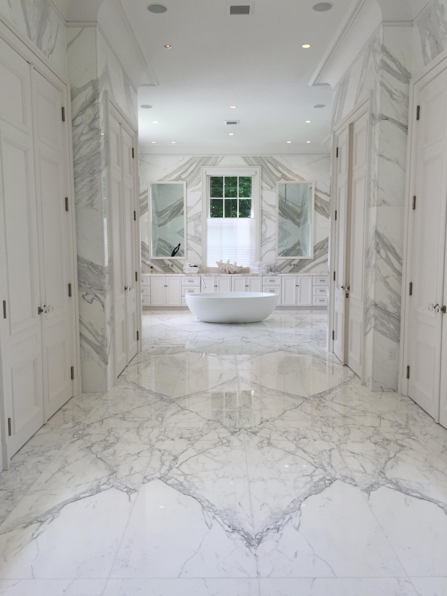 Calacatta Borghini Bathroom