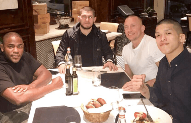 GSP Still Wants To Fight Khabib For His Legacy