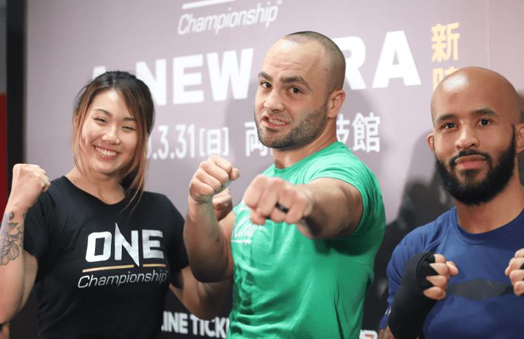 Demetrious Johnson, Eddie Alvarez and Angela Lee Hold Open Seminar In Tokyo