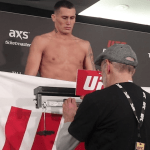 UFC London Weigh-In Results