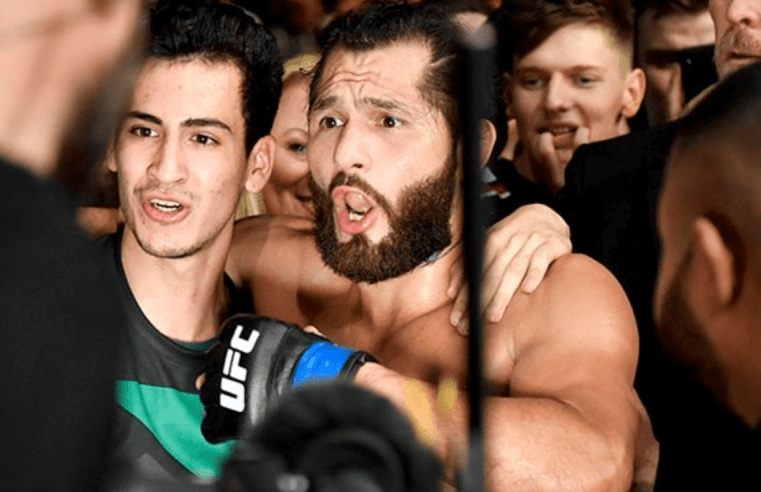 Masvidal Throws Punches At Edwards Backstage In London (Updated)