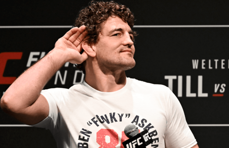 Ben Askren On Fight With Masvidal, Calls Nate Diaz Delusional