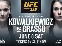 Grasso vs Karolina at UFC 238