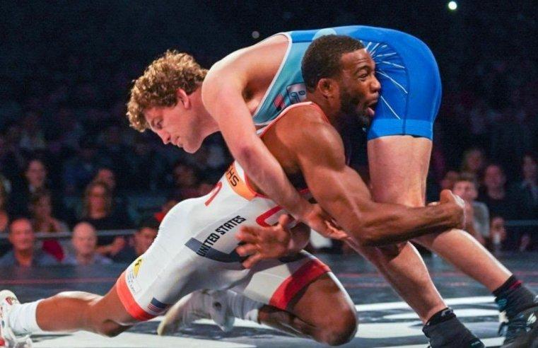 Jordan Burroughs Pays Homage To Ben Askren