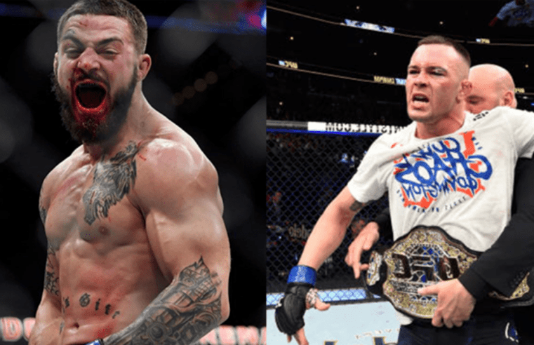 Colby Covington Wants To Break Mike Perry's Jaw