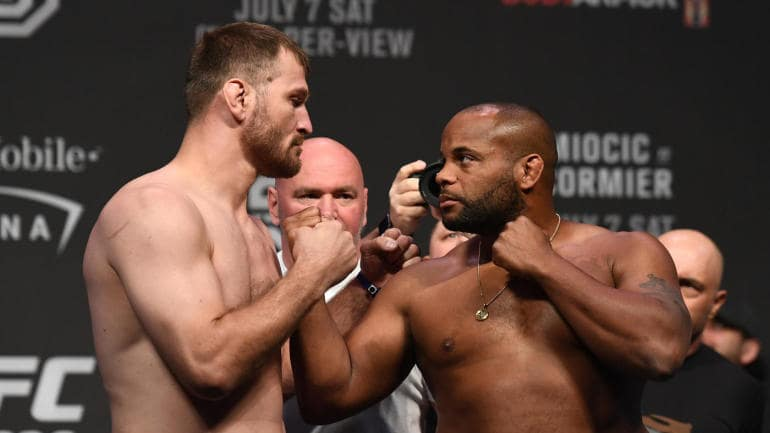Daniel Cormier Responds To Stipe Miocic Calling Him An Idiot