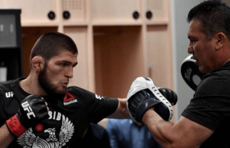 Khabib Has Started Training Camp For Dustin Poirier At UFC 242