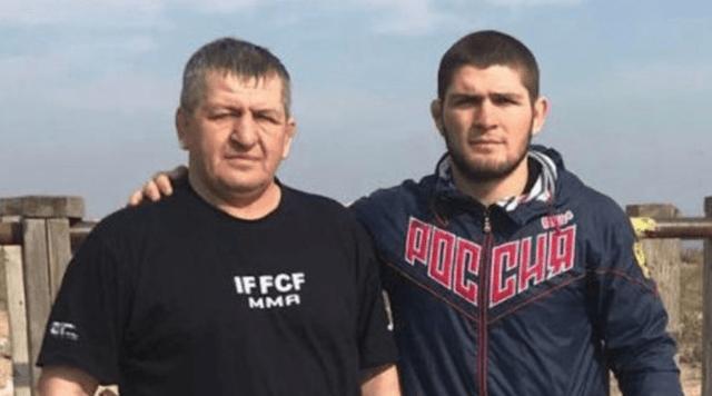 UFC Abdulmanap and Khabib Nurmagomedov