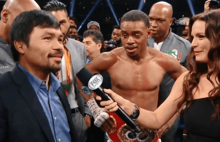 Errol Spence Calls Out Manny Pacquaio