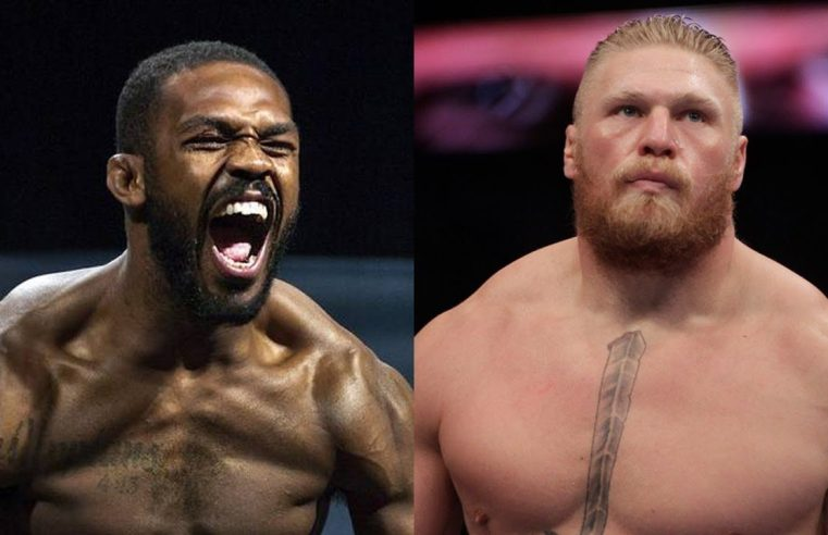 Jon Jones Says He Would 'Embarrass' Brock Lesnar