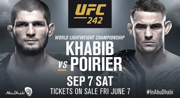 UFC 242 Pre-Fight Videos Page