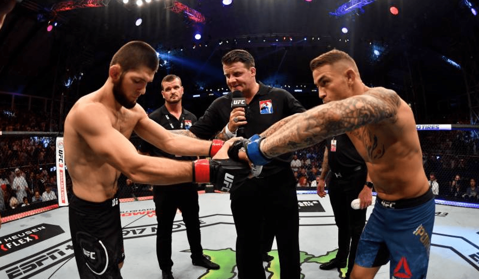 This Is How The MMA World Reacted To UFC 242