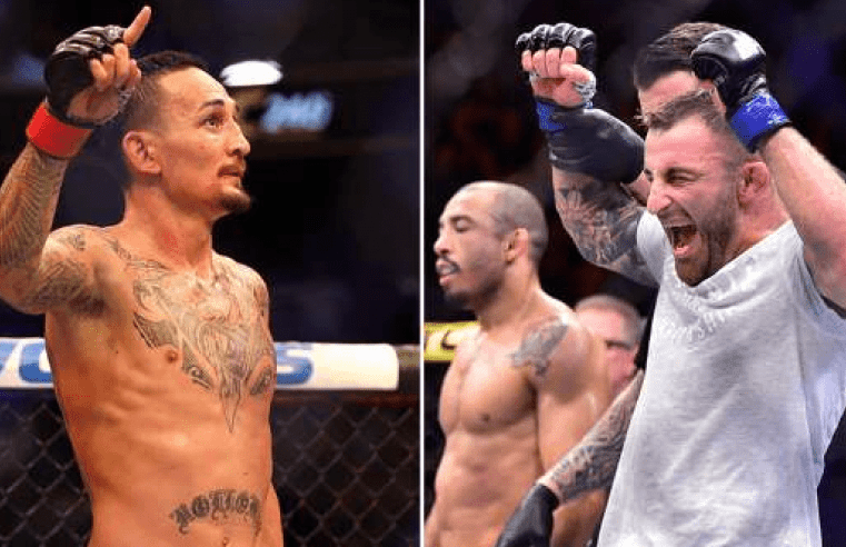 Max Holloway To Defend Title Against Alex Volkanovski At UFC 245