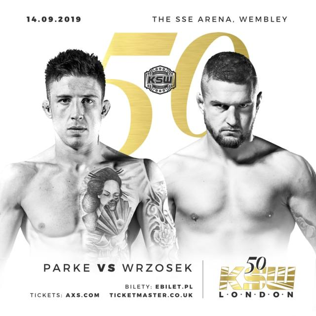 KSW 50 Norman Parke vs Marcin Wrzosek poster