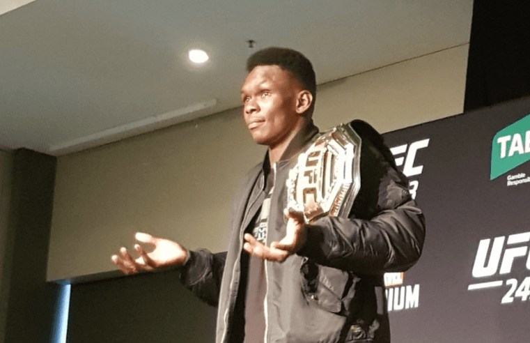 Israel Adesanya Wants To Beat The Man Everyone Thinks Can Beat Him